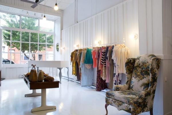 Think, modern vintage shop