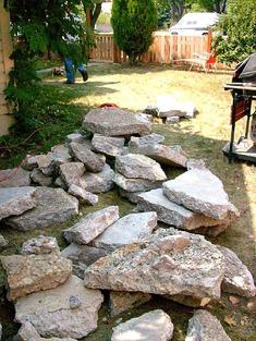 Good Idea :: Recycled Concrete Patio